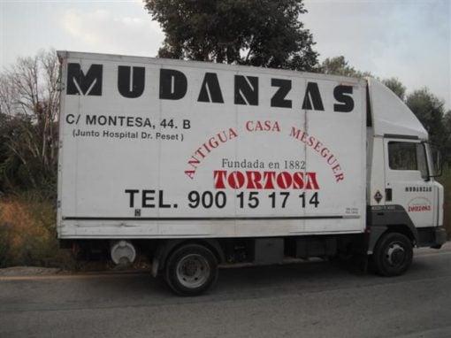 Camión mudanza Valencia