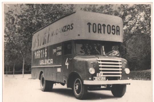 Camiones mudanzas tortosa