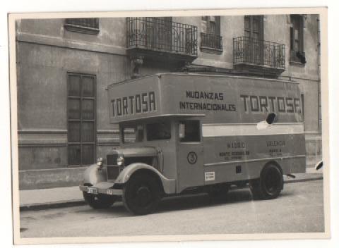 Mudanzas Tortosa camiones retro