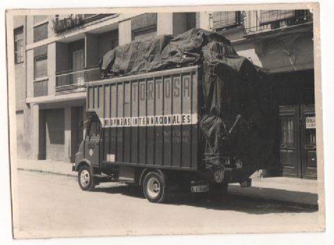 Camiones históricos de Mudanzas en Valencia